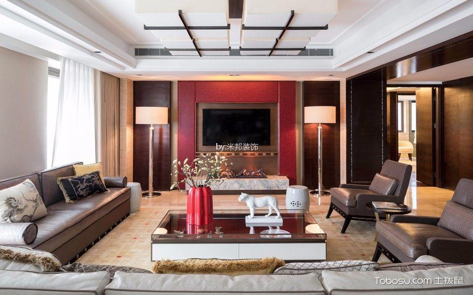 星河国际150平混搭风格三居室装修效果图