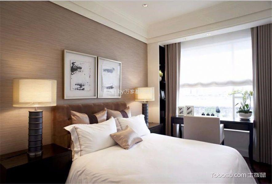 长泰国际85平两居室现代风格装修效果图