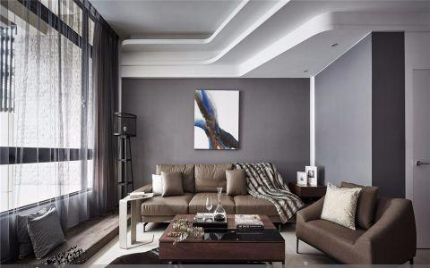 怡馨花园107平现代三室两厅两卫装修效果图