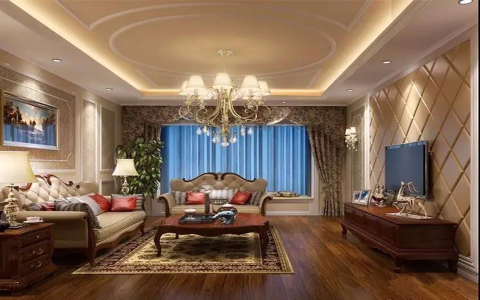 3室2卫2厅131平米简欧风格