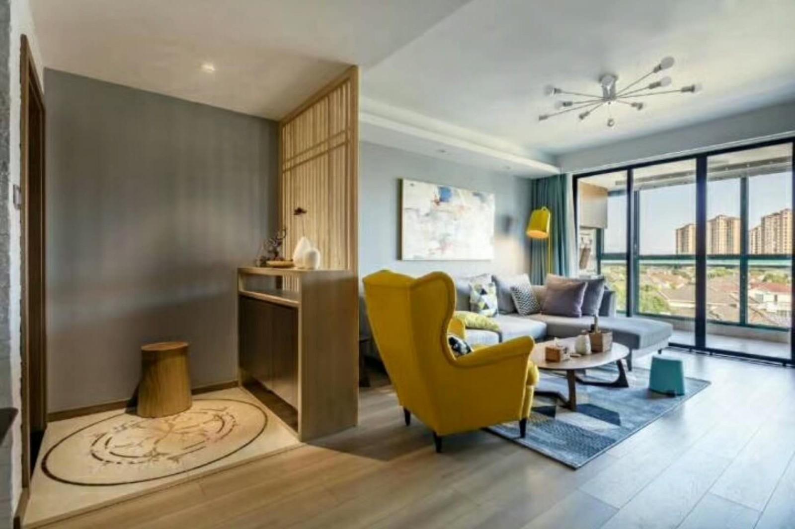 2室1卫1厅116平米北欧风格