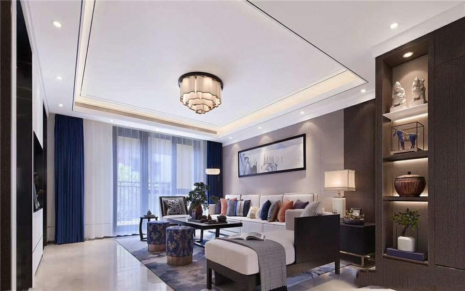 2室1卫1厅140平米中式风格