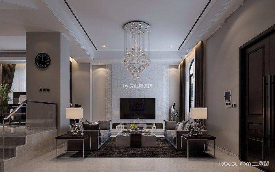 中海寰宇天下别墅620平米时尚现代风格装修效果图