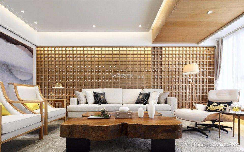 百环家园日式风格210平米三居室装修效果图