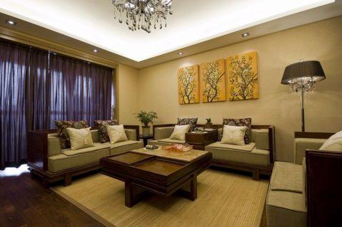 2021东南亚110平米装修图片 2021东南亚三居室装修设计图片