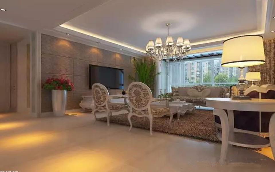 3室1卫1厅138平米简欧风格