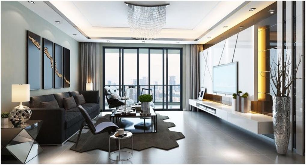 4室2卫2厅125平米现代风格