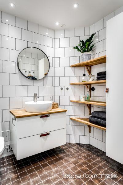 浴室北欧风格效果图