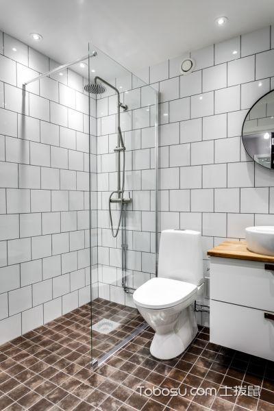 浴室北欧风格装修效果图