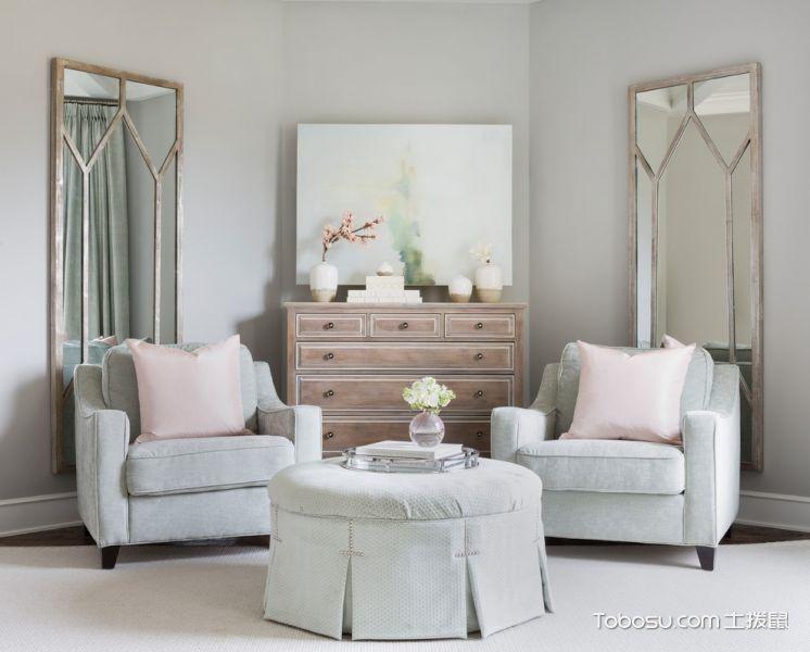 书房沙发美式风格装潢图片