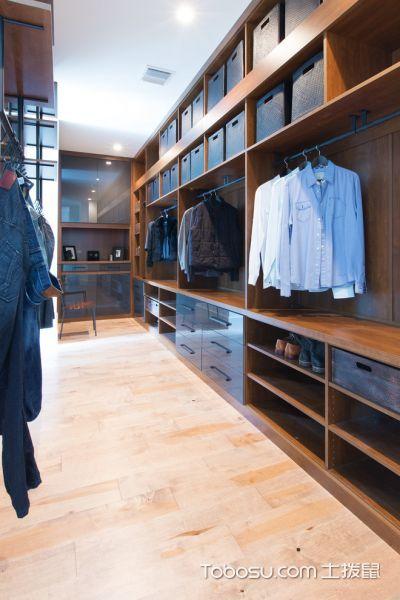 衣帽间衣柜现代风格效果图