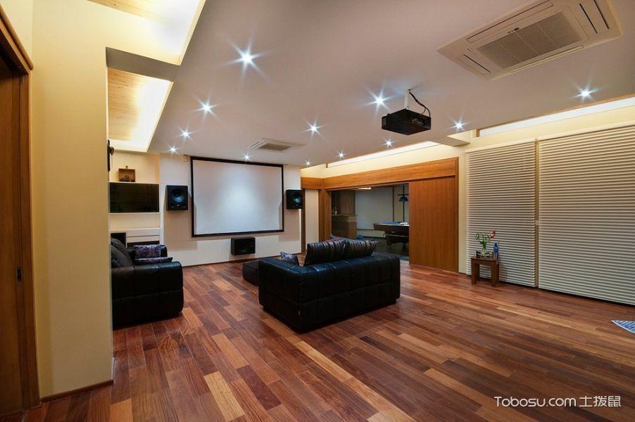 客厅咖啡色细节现代风格装修设计图片