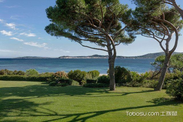 花园绿色细节地中海风格装修设计图片