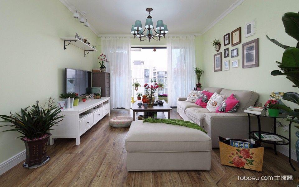 星河国际135平混搭风格三居室装修效果图