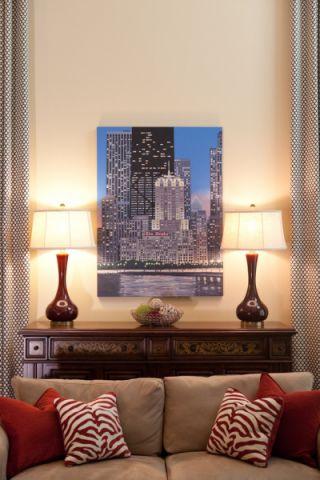 客厅简欧风格装饰设计图片