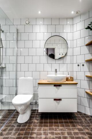 浴室北欧风格装潢设计图片