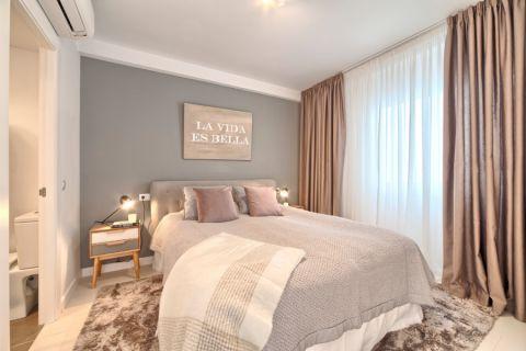 卧室北欧风格效果图大全2017图片_土拨鼠美感休闲卧室北欧风格装修设计效果图欣赏