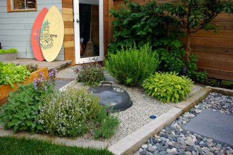 花园地砖现代家装设计