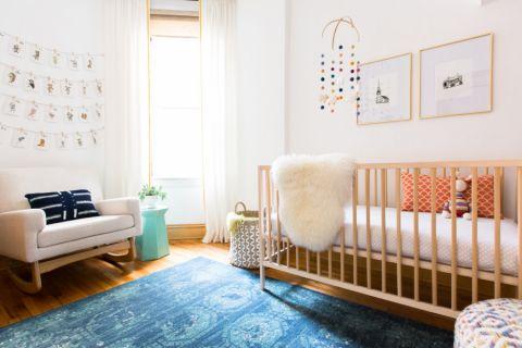 儿童房北欧风格效果图大全2017图片_土拨鼠大气个性儿童房北欧风格装修设计效果图欣赏