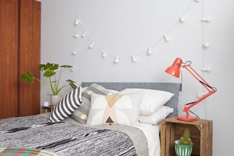 卧室北欧风格效果图大全2017图片_土拨鼠温暖雅致卧室北欧风格装修设计效果图欣赏
