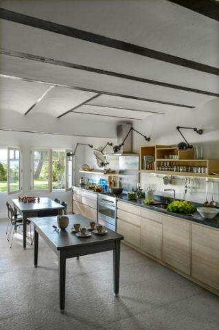 厨房地中海风格效果图大全2017图片_土拨鼠文艺质朴厨房地中海风格装修设计效果图欣赏