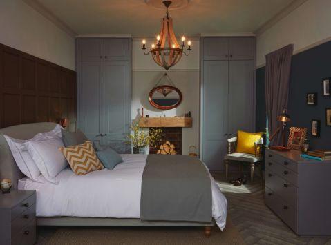 卧室北欧风格效果图大全2017图片_土拨鼠清爽时尚卧室北欧风格装修设计效果图欣赏