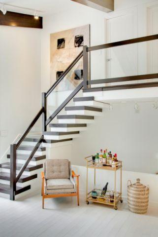 楼梯北欧风格效果图大全2017图片_土拨鼠温暖富丽楼梯北欧风格装修设计效果图欣赏