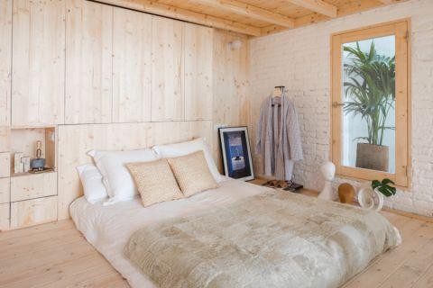 卧室北欧风格效果图大全2017图片_土拨鼠美感温馨卧室北欧风格装修设计效果图欣赏