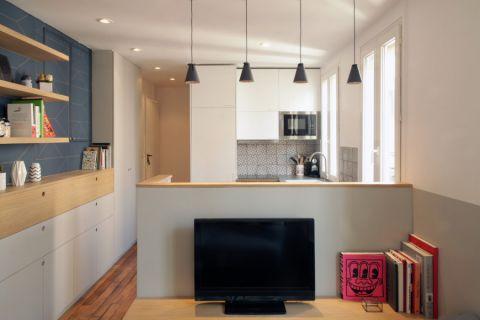 厨房北欧风格效果图大全2017图片_土拨鼠美好格调厨房北欧风格装修设计效果图欣赏