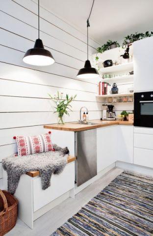 2021北欧90平米效果图 2021北欧三居室装修设计图片