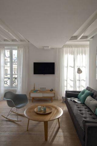 客厅北欧风格效果图大全2017图片_土拨鼠豪华风雅客厅北欧风格装修设计效果图欣赏