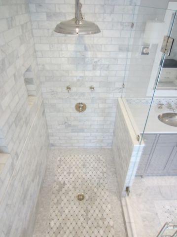 浴室简欧风格效果图大全2017图片_土拨鼠古朴舒适浴室简欧风格装修设计效果图欣赏