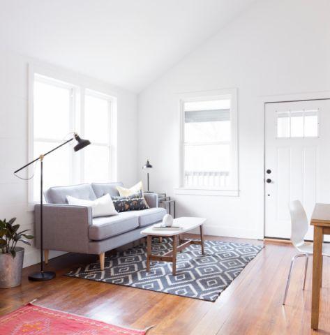 客厅北欧风格效果图大全2017图片_土拨鼠简约舒适客厅北欧风格装修设计效果图欣赏