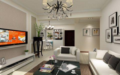 2020现代80平米设计图片 2020现代三居室装修设计图片
