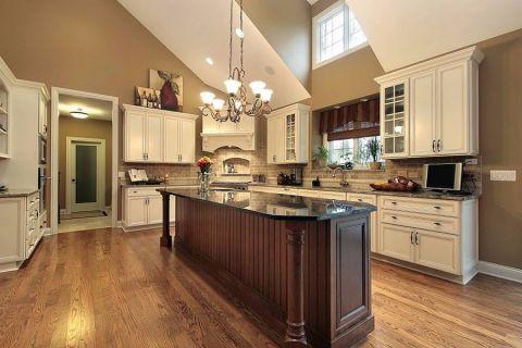 欧式厨房风格阁楼设计图片