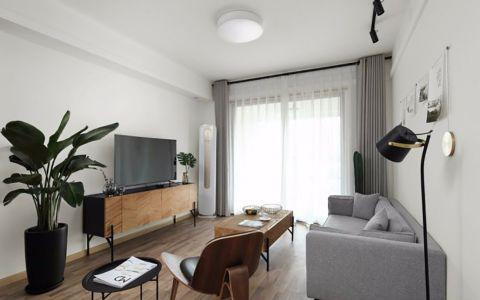 星河家园两室两厅北欧风100平米装修效果图