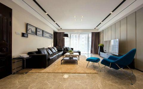 2020后现代120平米装修效果图片 2020后现代三居室装修设计图片