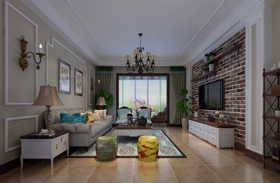 3室2卫2厅190平米美式风格