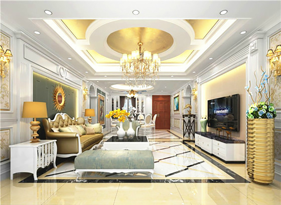 4室2卫2厅171平米欧式风格