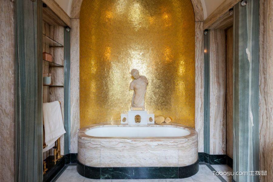 2018简欧浴室设计图片 2018简欧浴缸装修设计