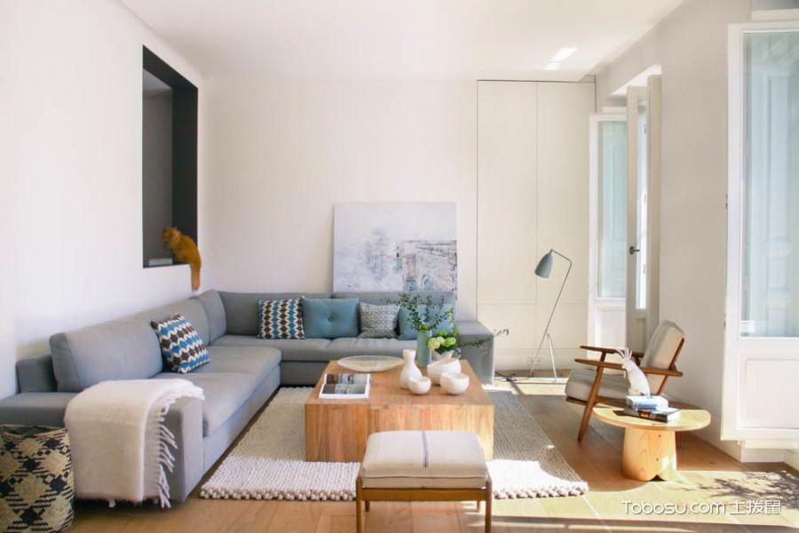 80㎡/北欧/公寓装修设计