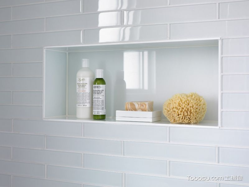 浴室白色细节现代风格装潢图片