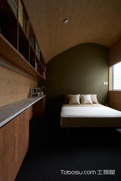 卧室日式风格效果图大全2017图片_土拨鼠清爽优雅卧室日式风格装修设计效果图欣赏