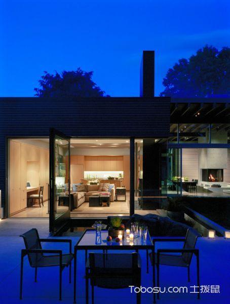 阳台白色地砖现代风格装饰图片