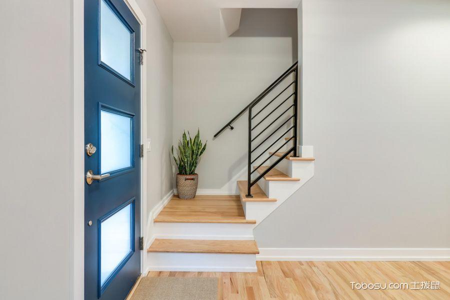 玄关白色门厅现代风格装饰效果图