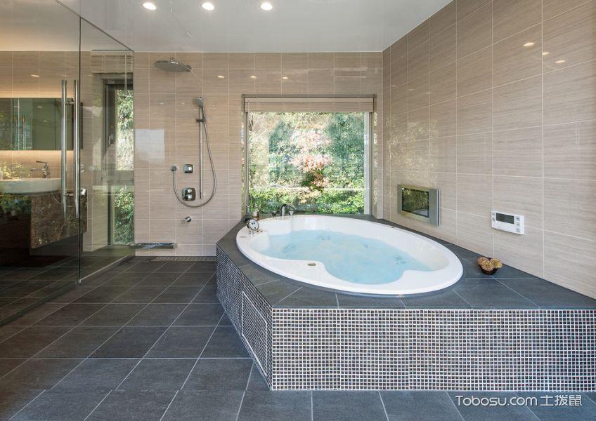 2019日式浴室设计图片 2019日式浴缸装修效果图大全