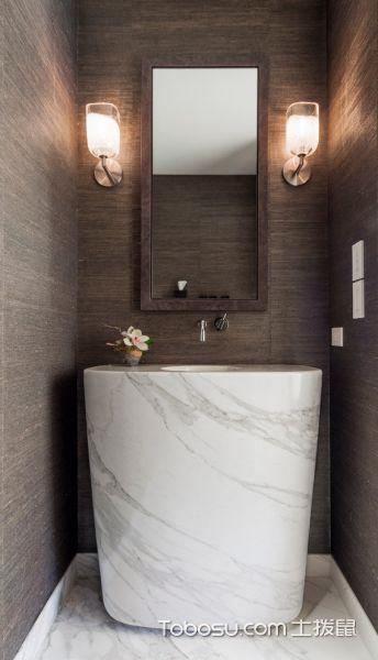 2020北欧浴室设计图片 2020北欧浴缸装修效果图大全