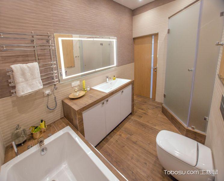 2019北欧浴室设计图片 2019北欧浴缸装修效果图大全