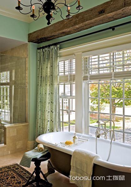 2020简欧浴室设计图片 2020简欧浴缸装修效果图大全
