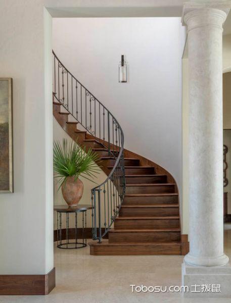 2019地中海客厅装修设计 2019地中海楼梯装修设计